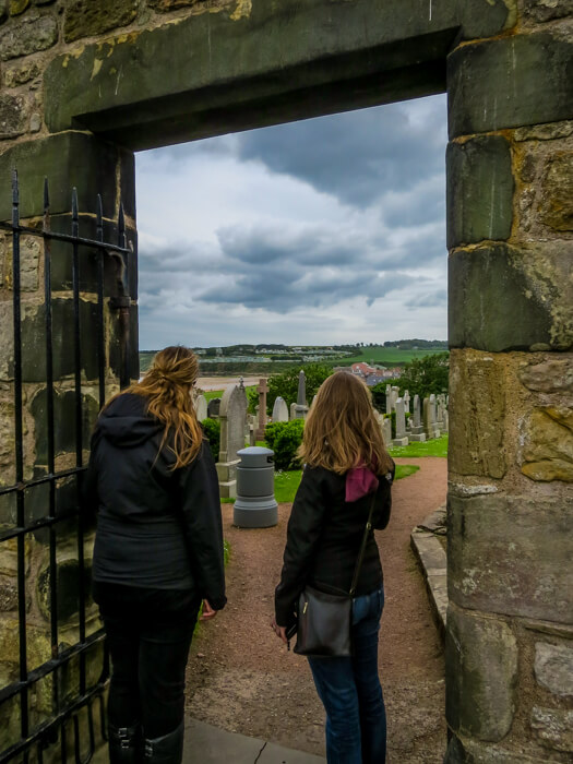fife castle views