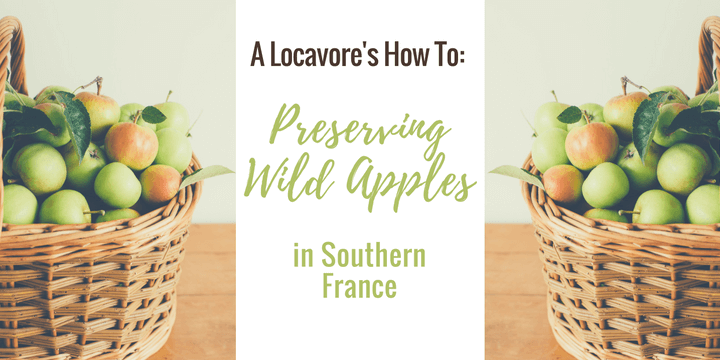 Locavore's How To: Preserving Wild Apples