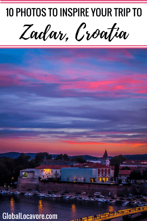Photo Essay: Experiencing a city like a local is my ultimate travel desire. While in Zadar Croatia the relaxed, welcoming atmosphere made me feel at home.